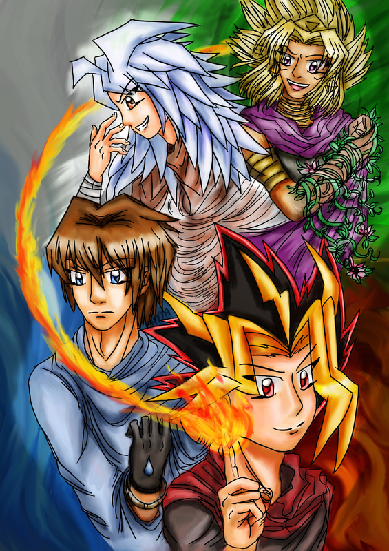 The Elementals Cover by HikariYugiYamiAtemu