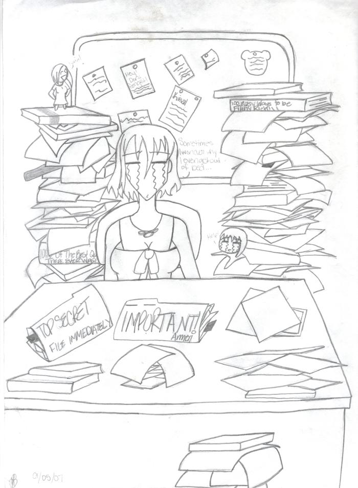 Ki-chan's Office! by Hiro_The_Ram