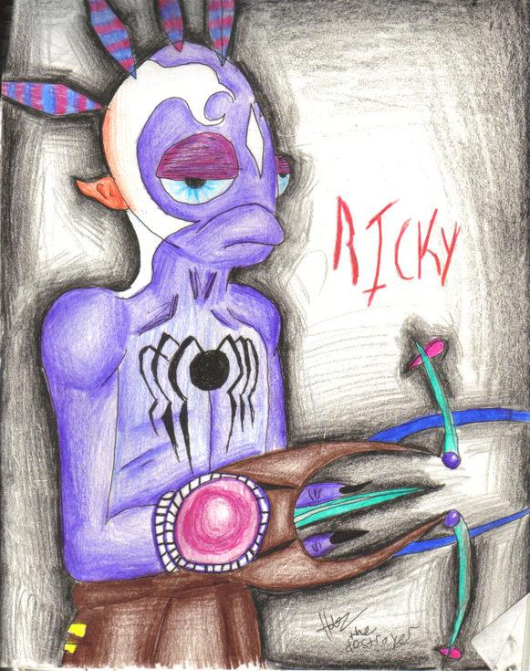 Ricky, my oddworld OC by Hobz_the_destroyer