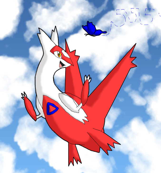 DA kiriban: Latias by Hsumi