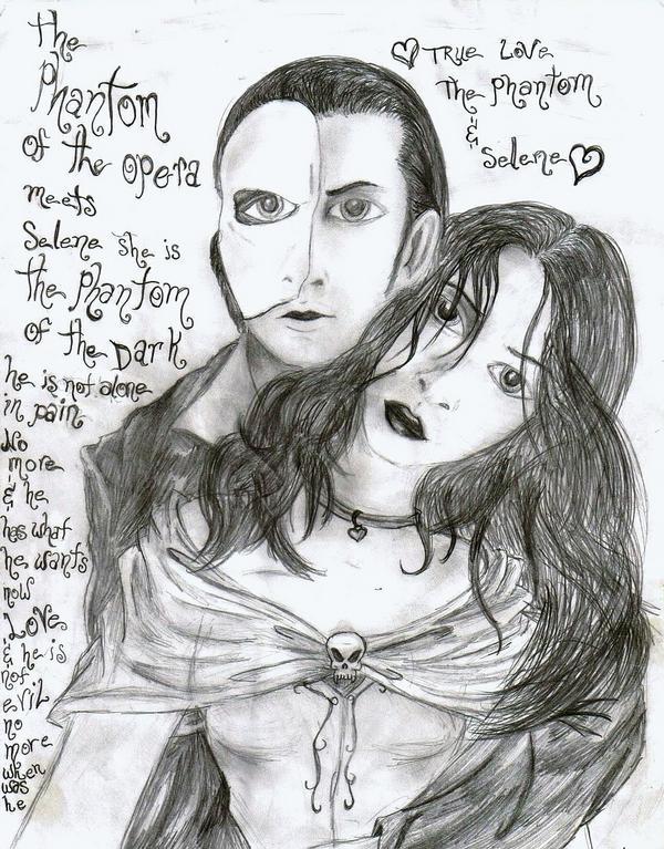 Phantom and Selene by HugAttack4JesusXD