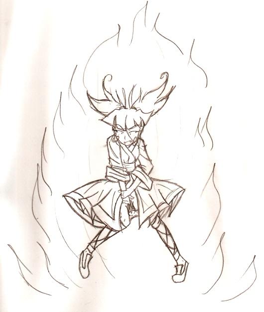 Fiery Kimiko by Hybrid_Sunshine