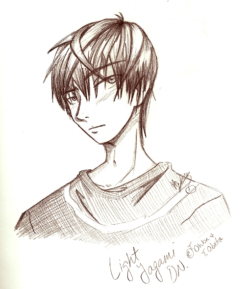 Light Yagami by Hybrid_Sunshine