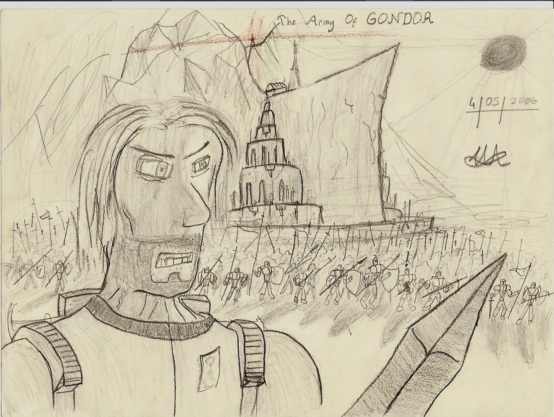 Army of Gondor- by halojen51
