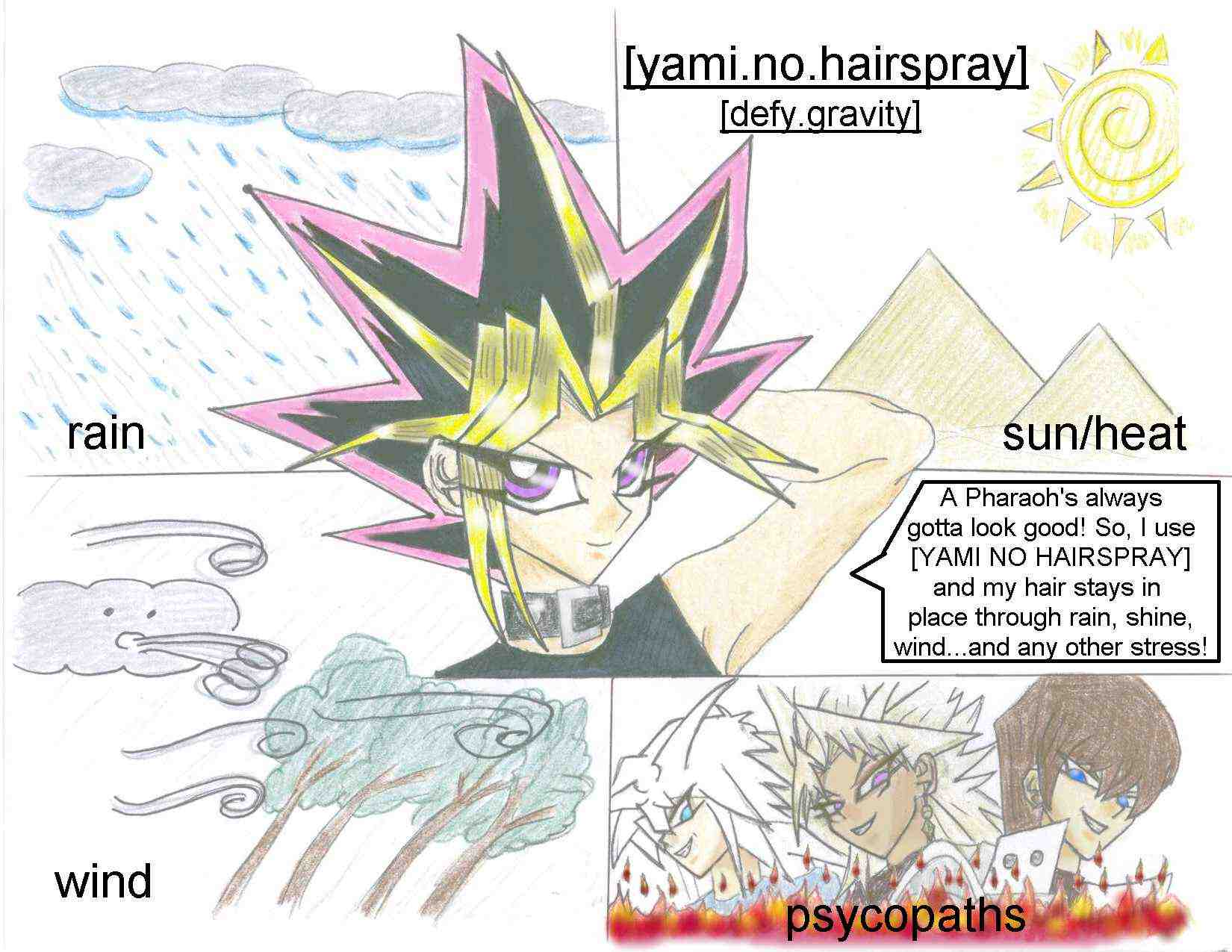 ! Yami no Hair Commercial ! by hellpoemer