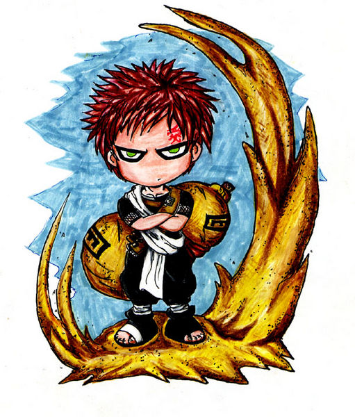 Gaara Color by highteckdudu