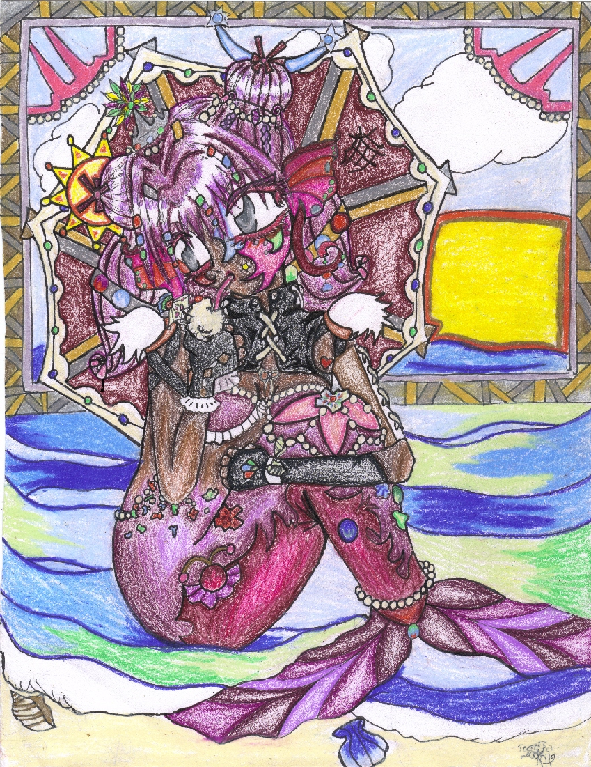 Punky Mermaid by hipeople