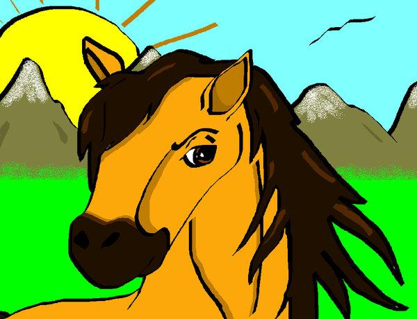 Stallion of the Cimarron by hitokage195