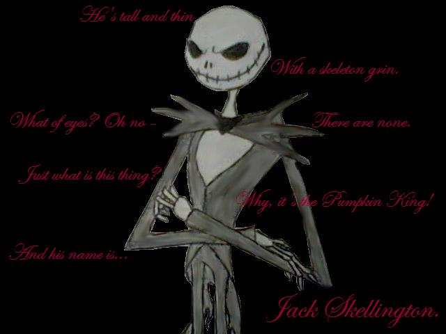 Jack Skellington by hitokage195
