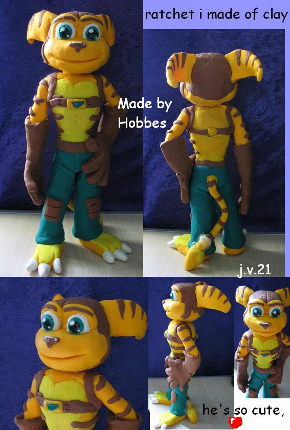 sculpture ratchet by hobbes
