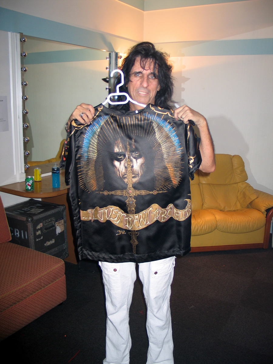 Alice Cooper and my gift by hotleather