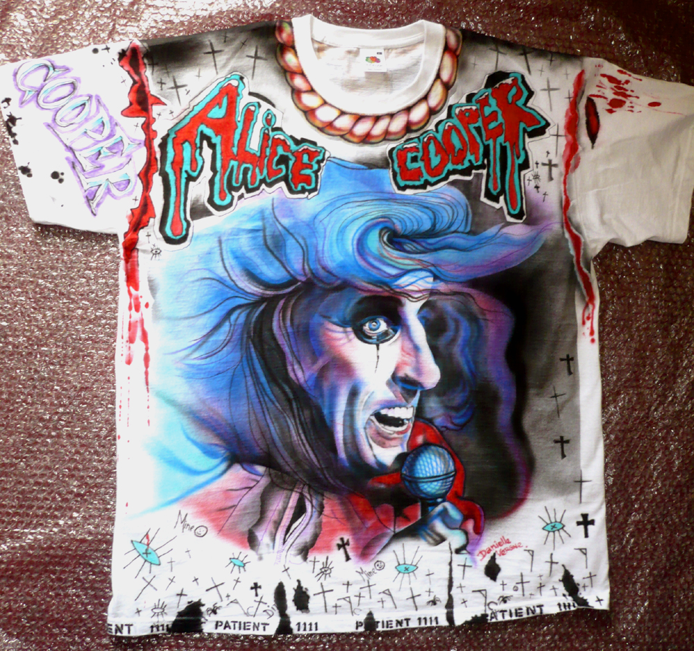 Alice Cooper deluxe t-shirt by hotleather