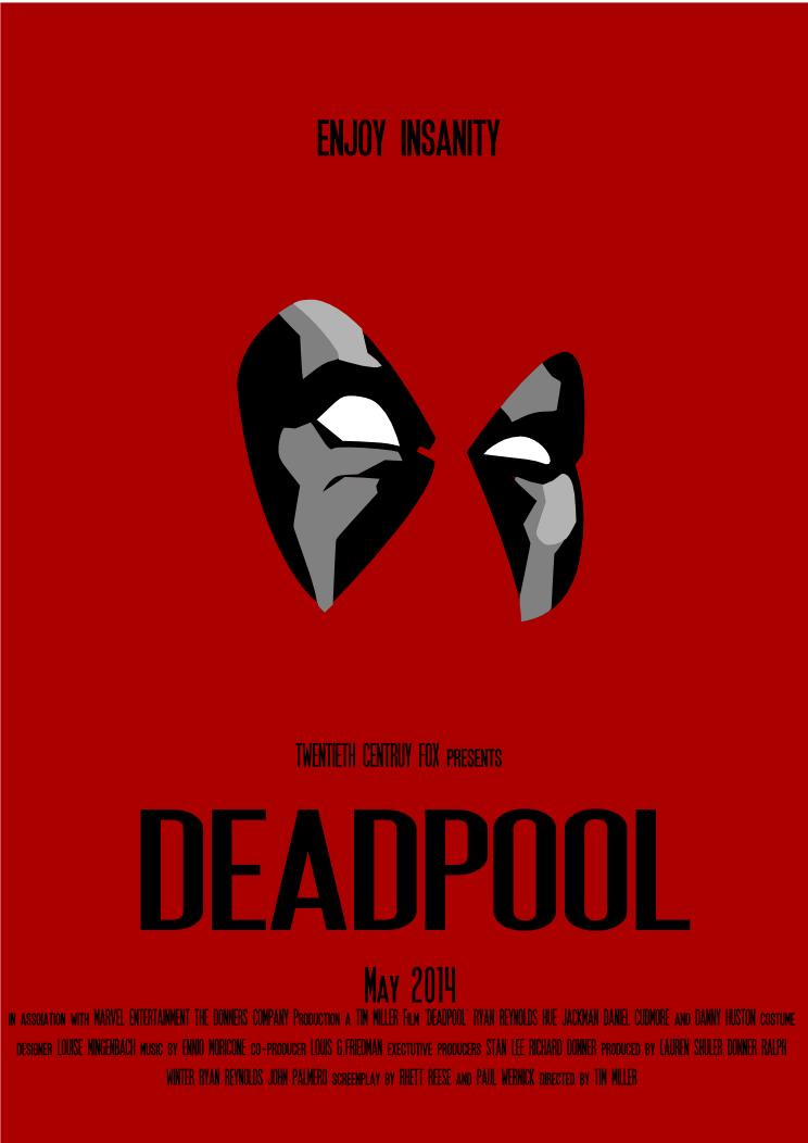 Deadpool Movie Poster by hueyfreeman