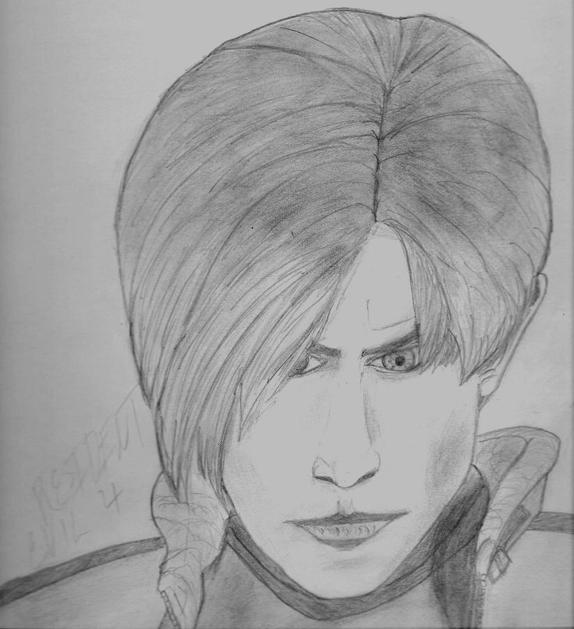 Leon S.Kennedy by hunkter