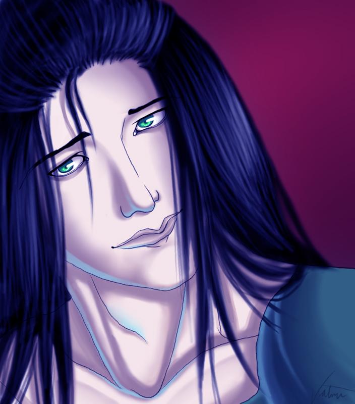 Blue Hair by hvite_devil