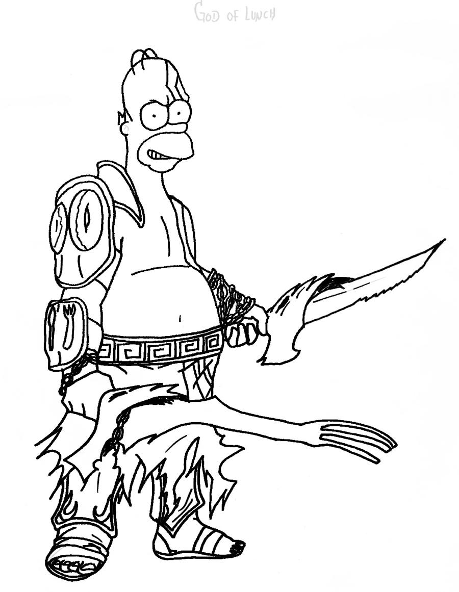 Homero Kratos by hyokagami