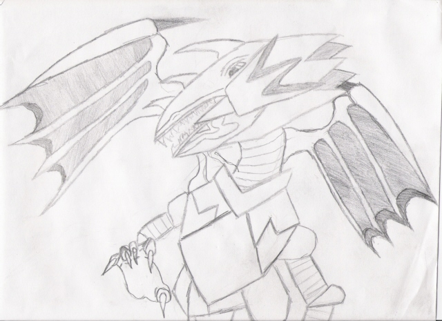 gardian dragon (uncolored) by I-love-cheese