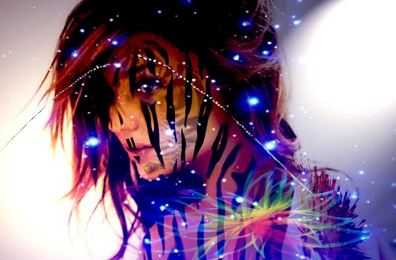 Tiger girl by Iamphotoshop