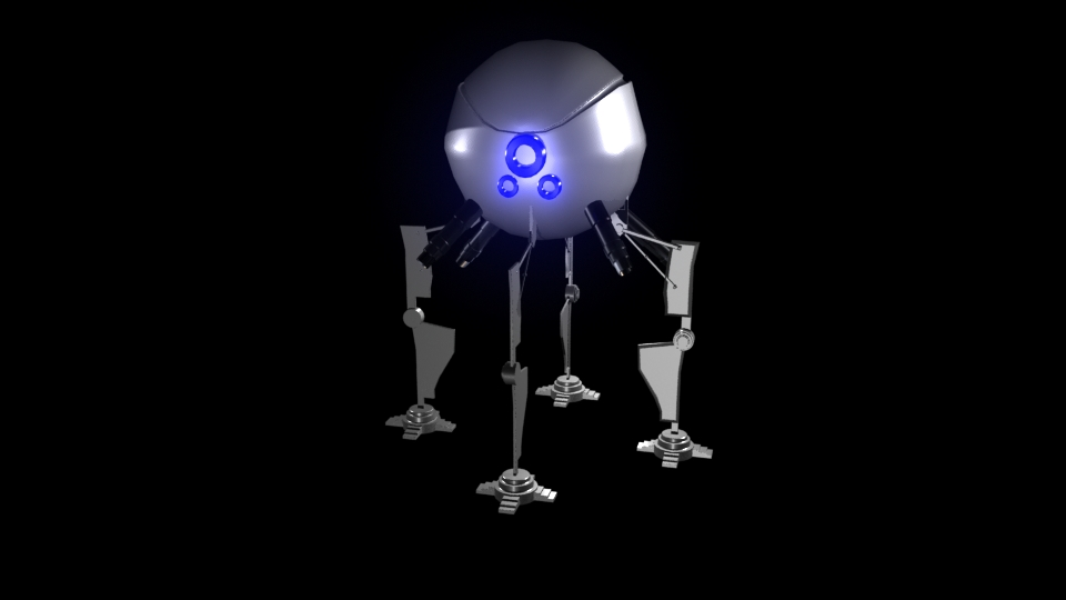 Robot by Iamphotoshop