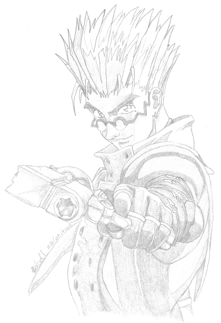 Vash The Stampede by Ice_Vixin