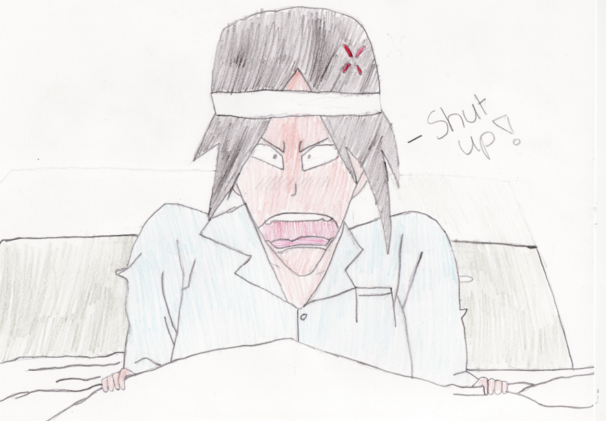 Ishida is Not a Morning Person by Ick1