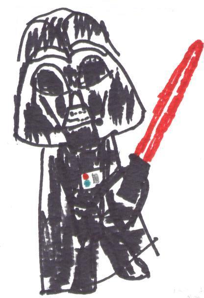 Chibi Darth Vader! by Immelmann