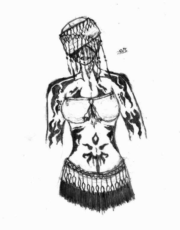 My Ritualist Character, Ashira Mackenshi by Innoccence