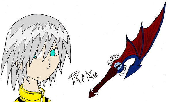 Riku and the Soul Eater by InsaneMonkey46