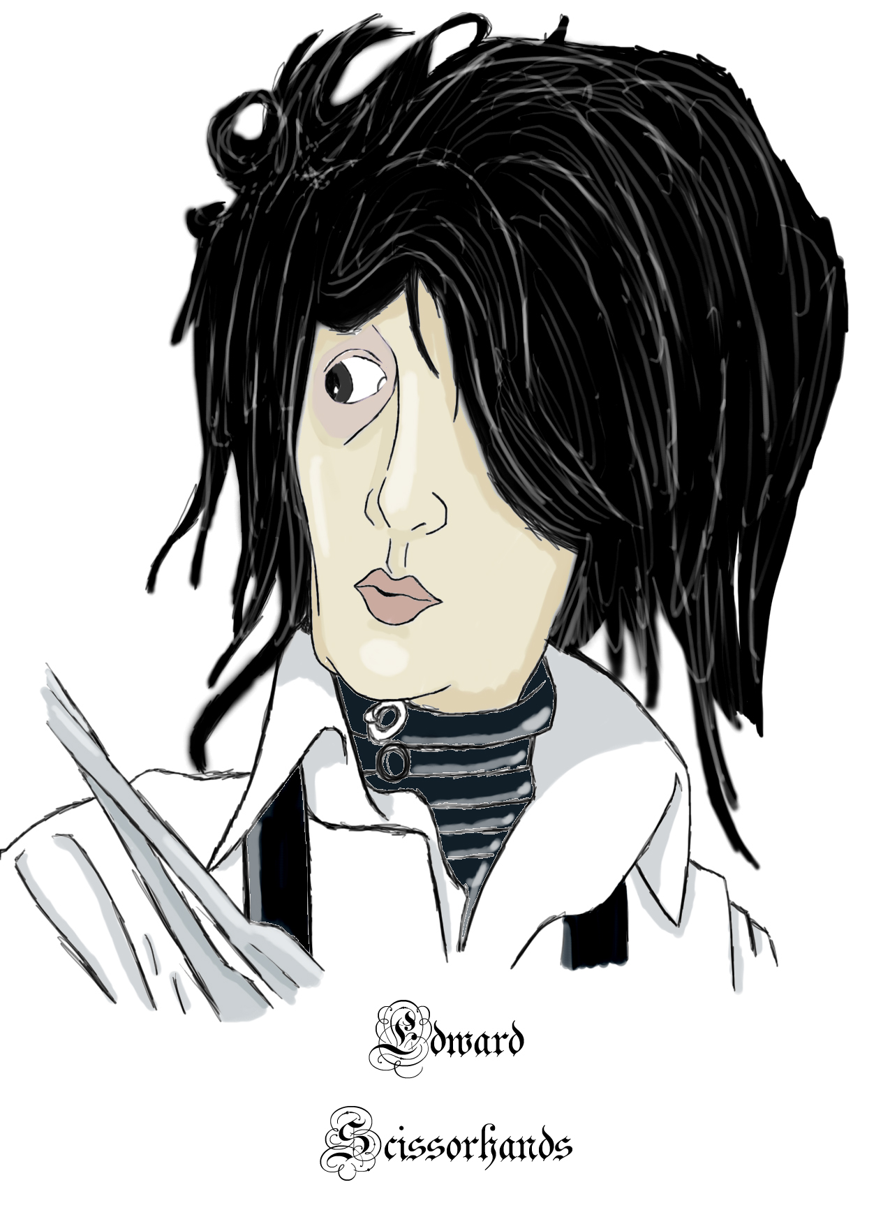 Edward Scissorhands by Insight