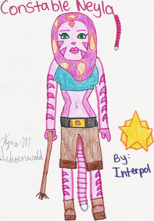 Constable Neyla 2 by Interpol