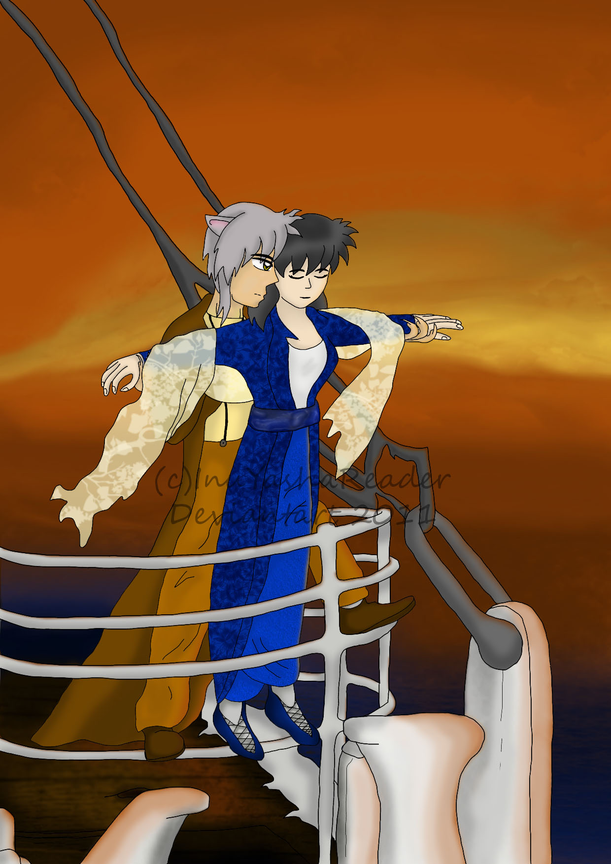InuKag: On the Titanic by InuYashaReader