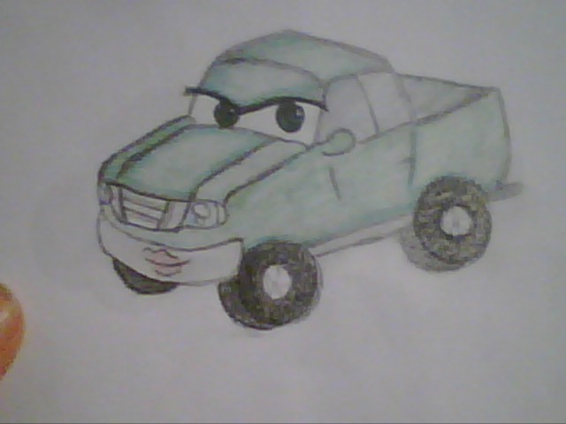 me as a cars character by InvaderAmmy00