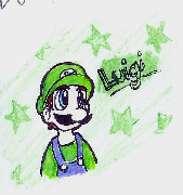 Luigi by InvaderKylie
