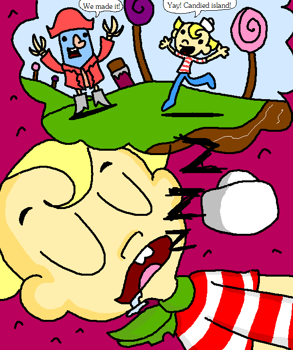 misadventures of flapjack coloring pages - photo#35