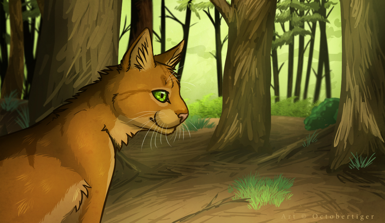 Forest Hunting by InvaderTigerstar