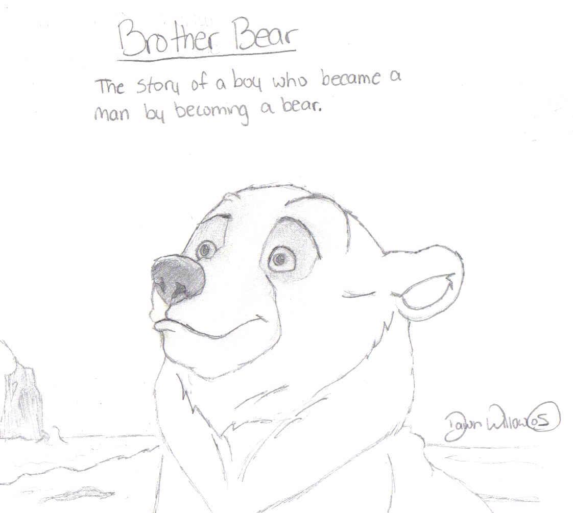 Kenai da bear XD by Invader_Dawn