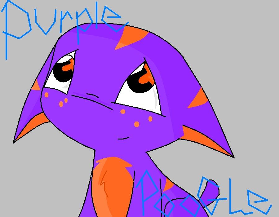 Purple POOGLE! by Irken_Akire