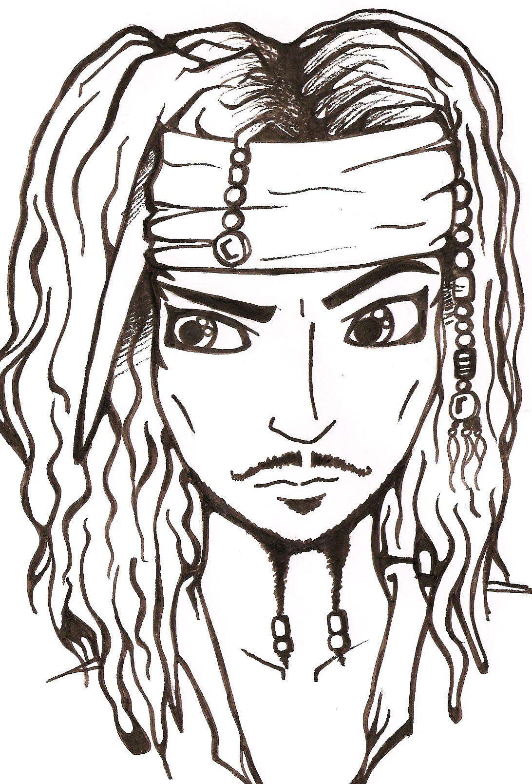 Jack Sparrow by IsabellaTaylor