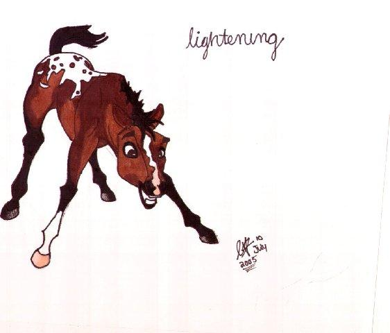 Lightening by Isis0123