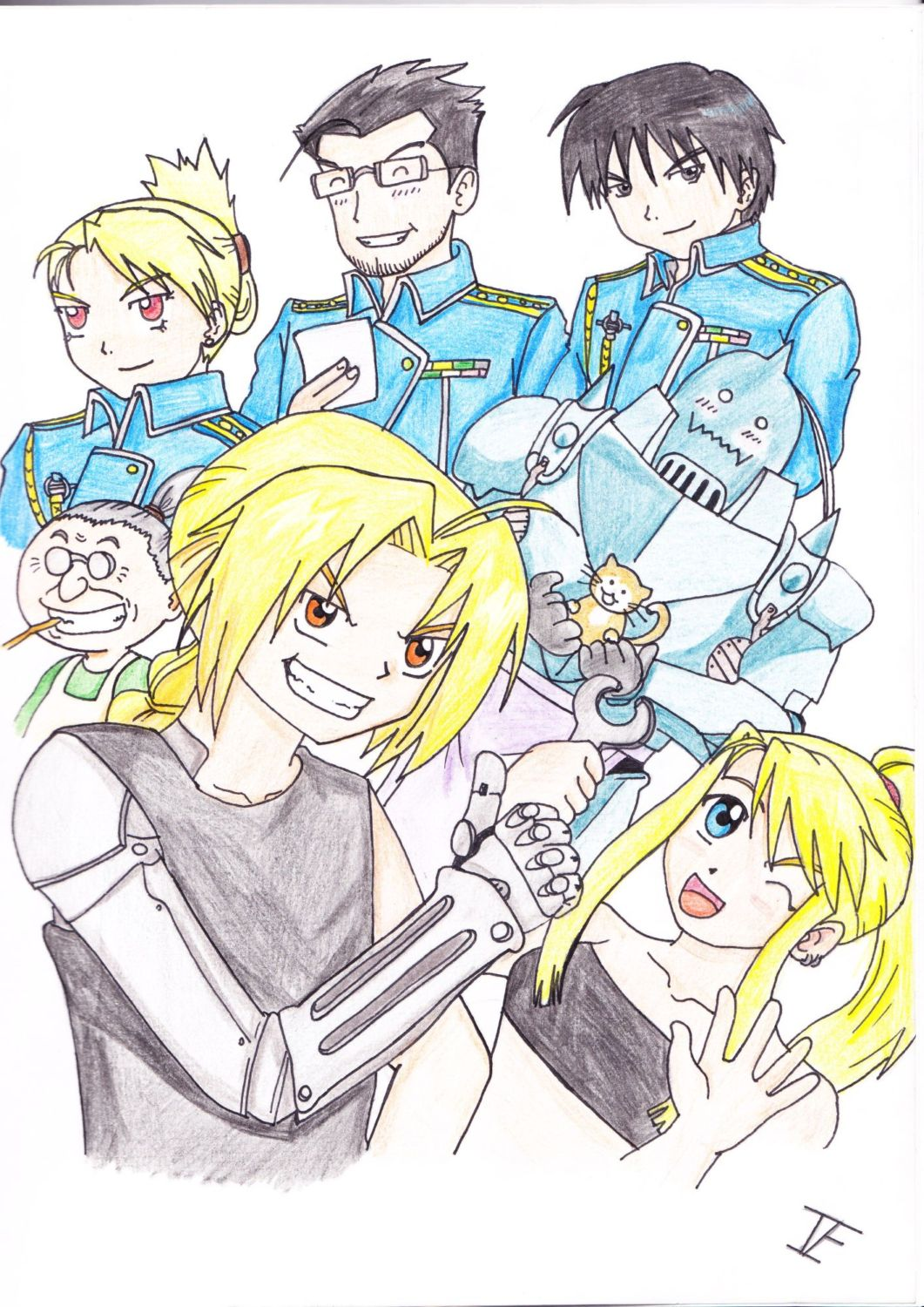 fma group by Iskeanime16