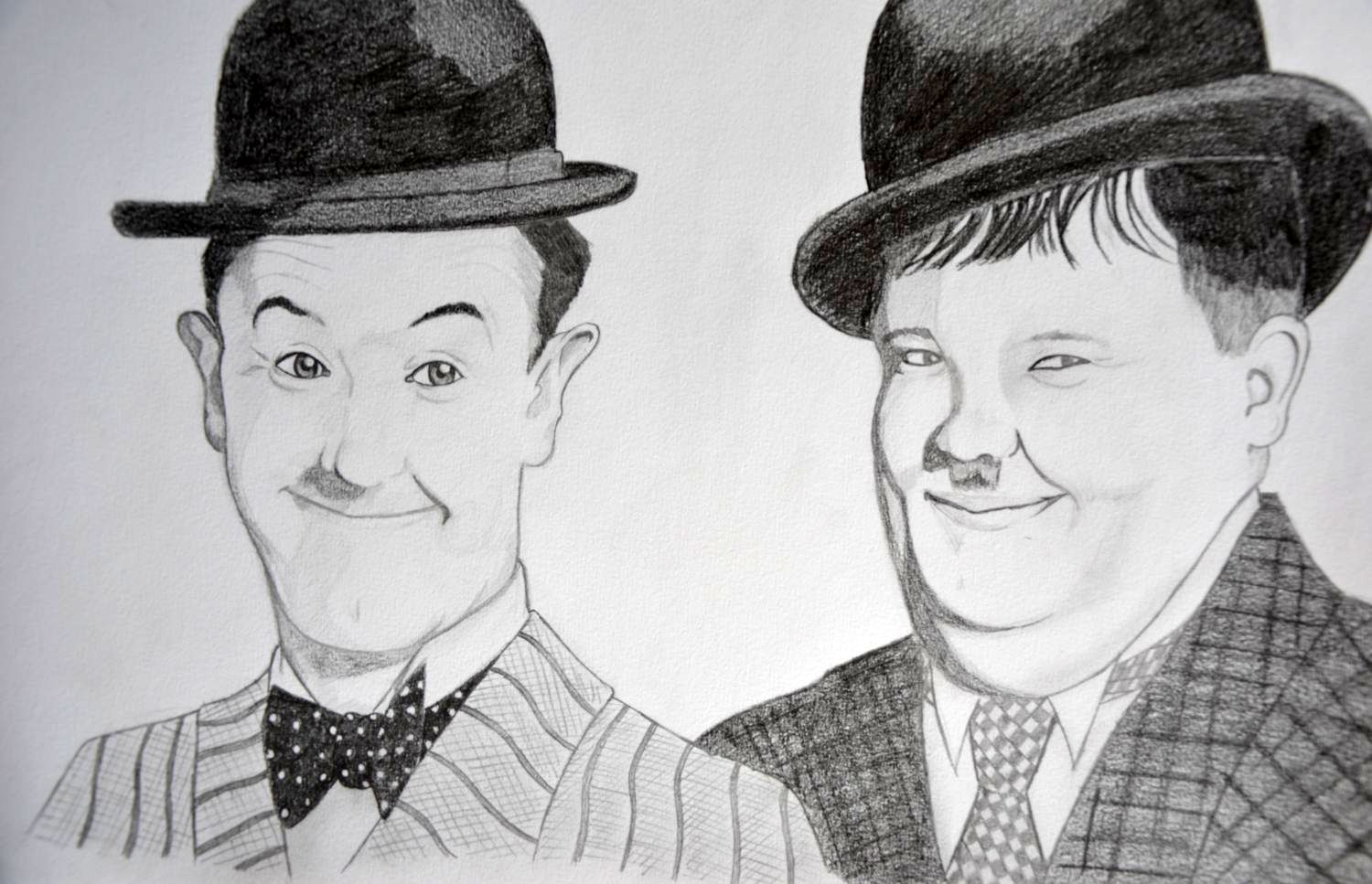 Laurel and Hardy by Iskeanime16