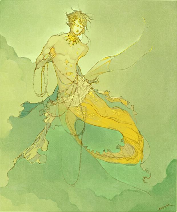 Commission - Prince Llyr by Issy
