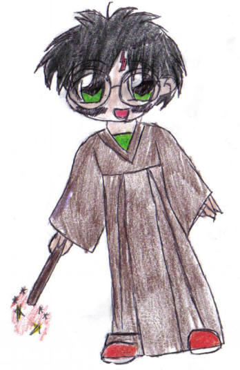 chibi harry...(colored) by Italias_most_devious
