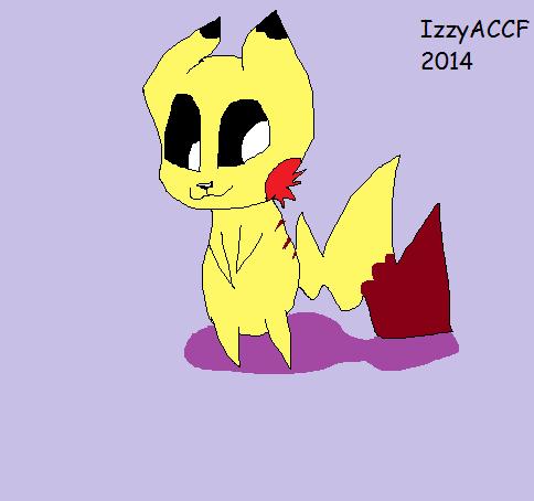 Majestic Pikachu by IzzyACCF
