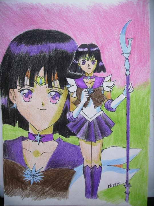 Sailor Saturn by i77310