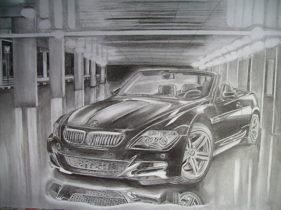 Car Drawing 1 by i77310