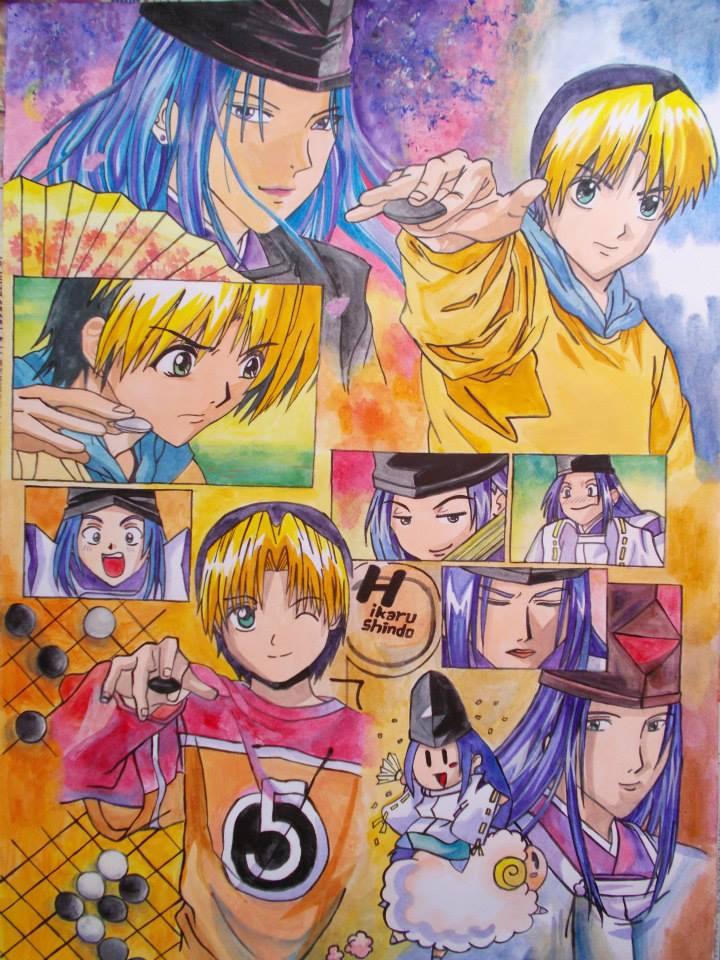 棋靈王Hikaru No Go Painting by i77310