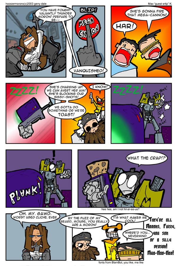Maximum Morons page 6 by iMax