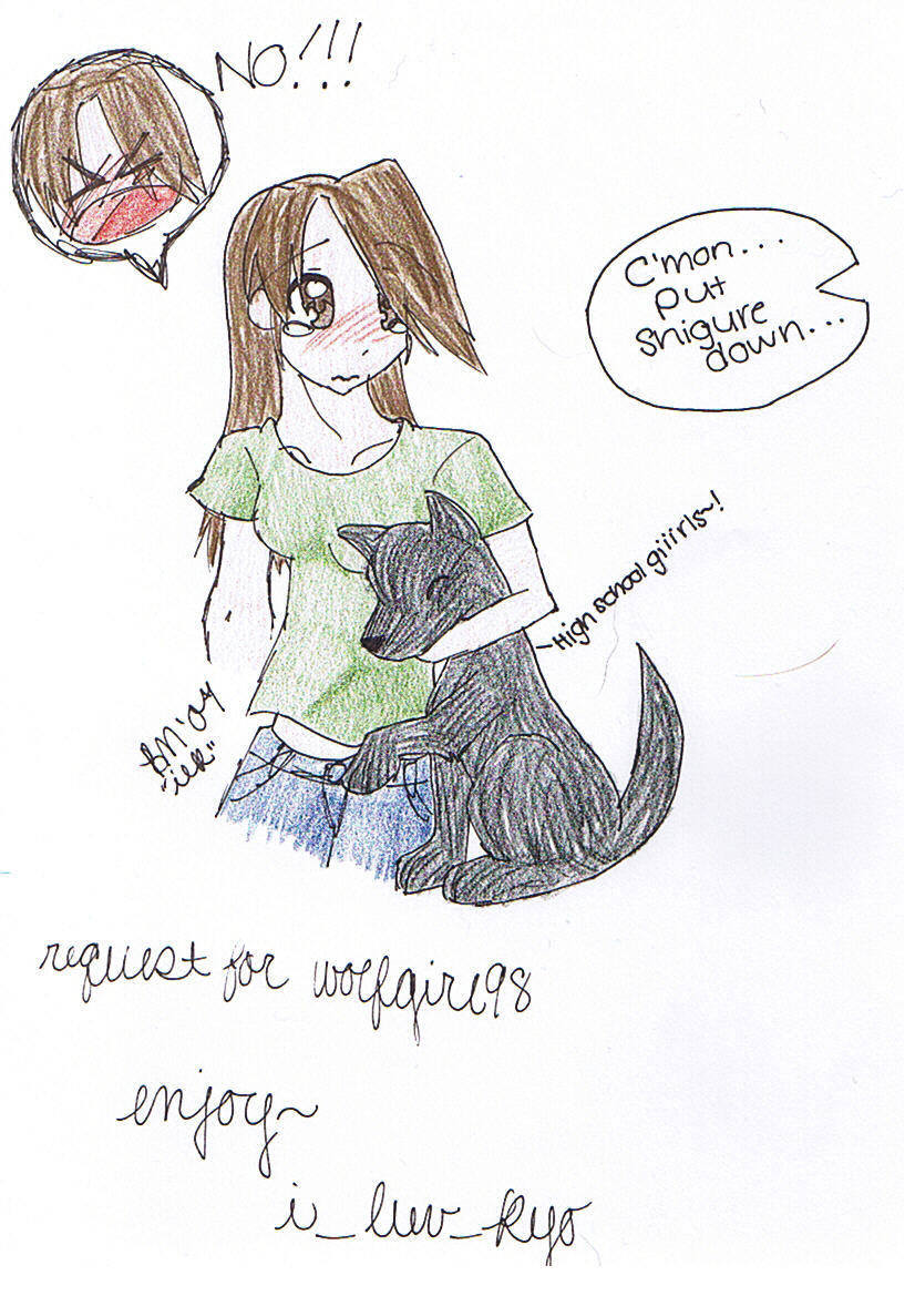 Put the dog down! [For wolfgirl98] by i_luv_kyo
