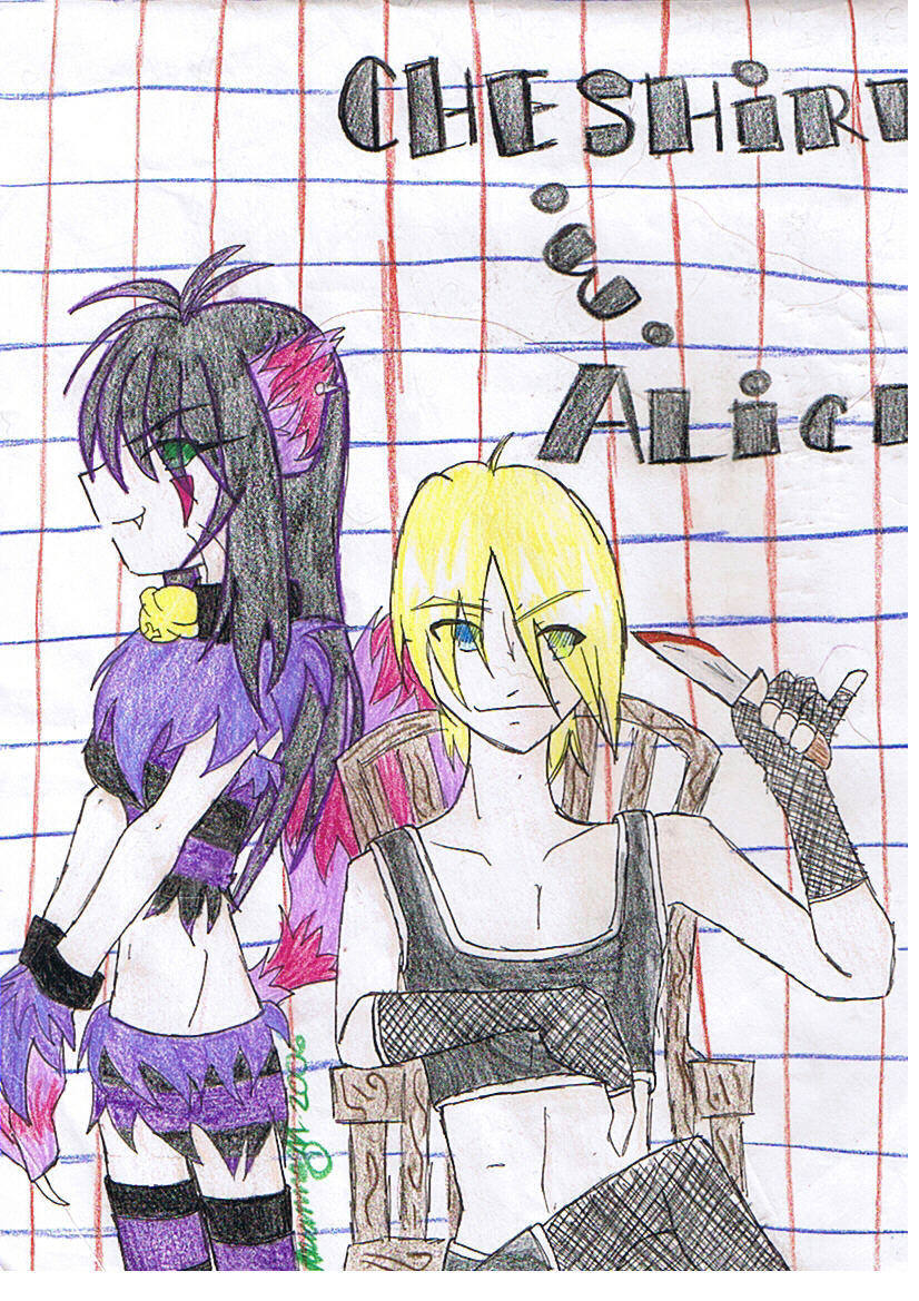 Alice & Cheshire by i_luv_kyo